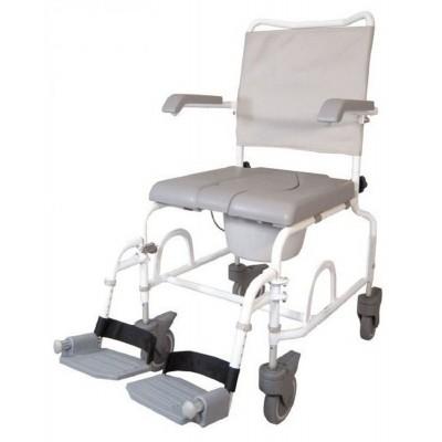 Foto van Douche - Toilet stoel verrijdbaar Duo Motion 5 inch wielen