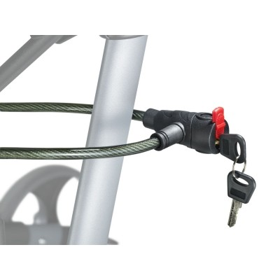 Foto van Anti-diefstalslot voor rolstoel en rollator