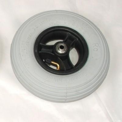 Foto van Wiel 200x50mm (8x2 inch) Luchtband grijs