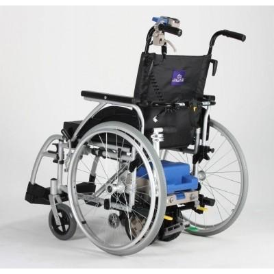Foto van Duwondersteuning inclusief rolstoel