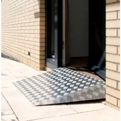 Foto van Oprijplaat aluminium (0 tot 7cm)