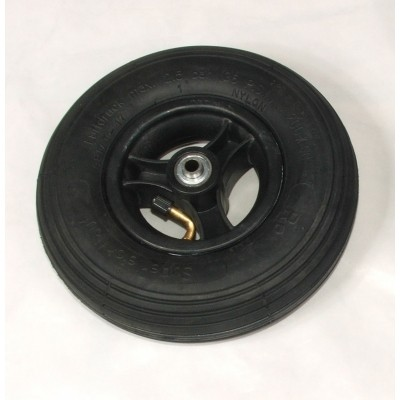 Foto van Wiel 200x50mm (8x2 inch) Luchtband zwart