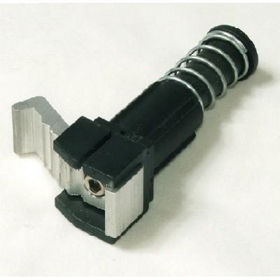 Foto van Rollator voetstuk compleet met remblok (metaal)