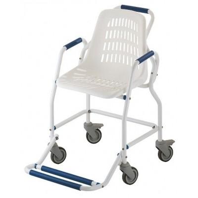 Foto van Douche stoel compleet met gevormde zitting + centrale voetplaat