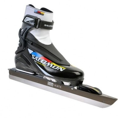 Free-Skate Set Aanbieding. Pro Combi Pilot schoen met Free Skate Allround IJzer.