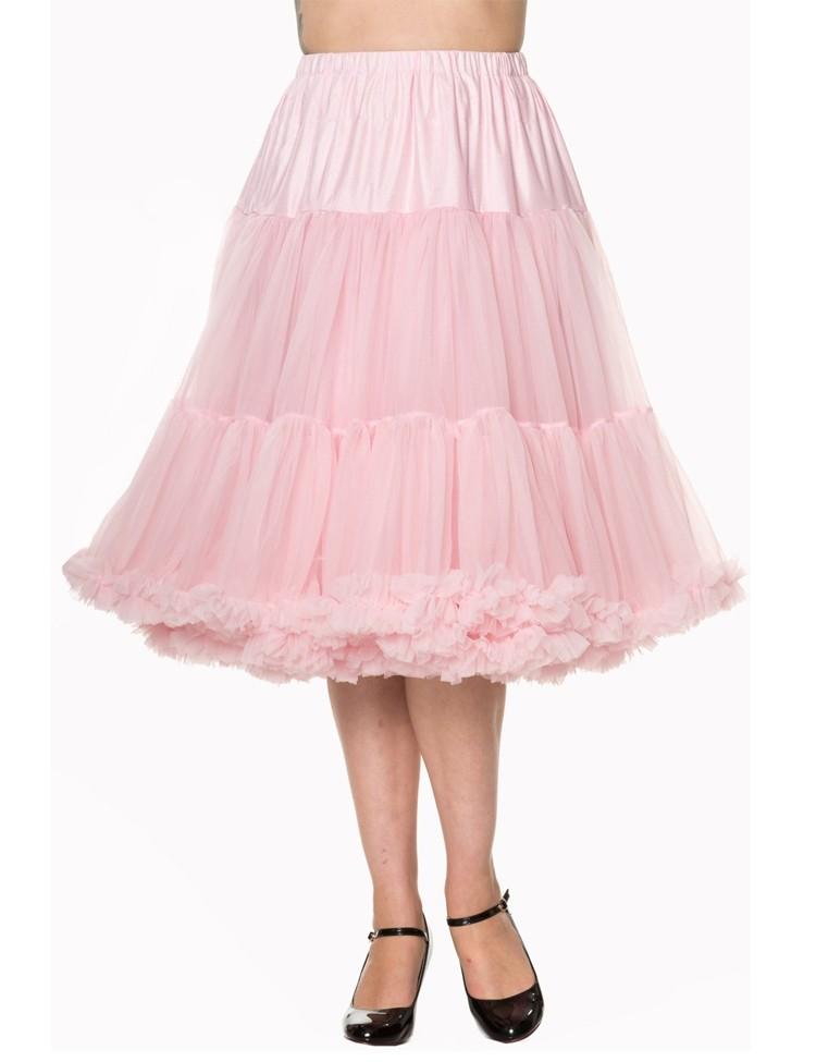 Petticoat Lifeforms lang met extra volume Licht Roze