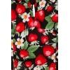 Afbeelding van Top Strawberry Sundae Zwart