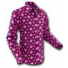 Afbeelding van Overhemd Seventies Tube Bordeaux