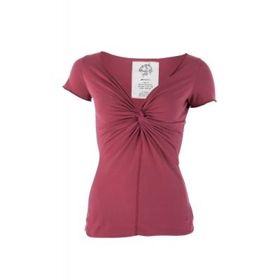 Shirt Angie 100% bio katoen Framboos Roze