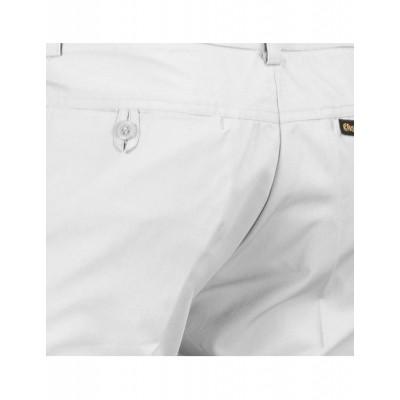 Foto van Pantalon met uitlopende pijp Wit