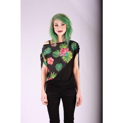 Shirt Mona tropische print