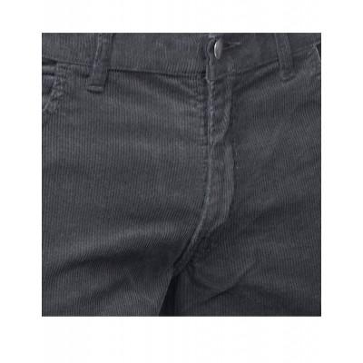 Foto van Ribcord broek wijdepijp lang Zwart