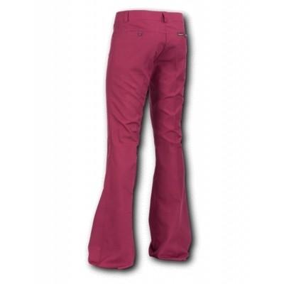 Foto van Pantalon met uitlopende pijp, Bordeaux