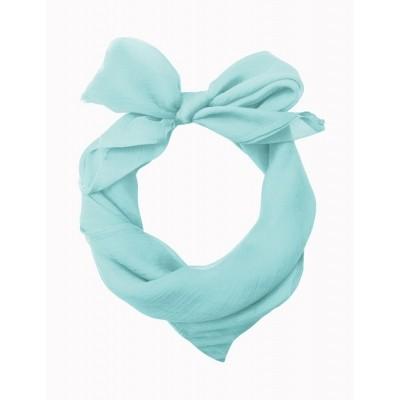 Sjaal Gradiation Aqua Blauw