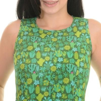 Foto van Jurk Cactus retro print