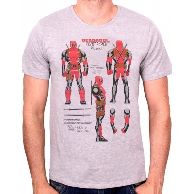 T-shirt Deadpool sixth Scale Figure