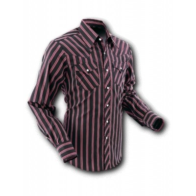 Overhemd Cowboy Black Stripes