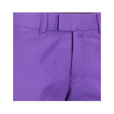 Foto van Pantalon met uitlopende pijp Paars