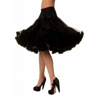 Petticoat Lifeforms Kuitlang met extra volume Zwart