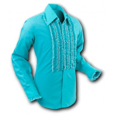 Overhemd Ruche Mint
