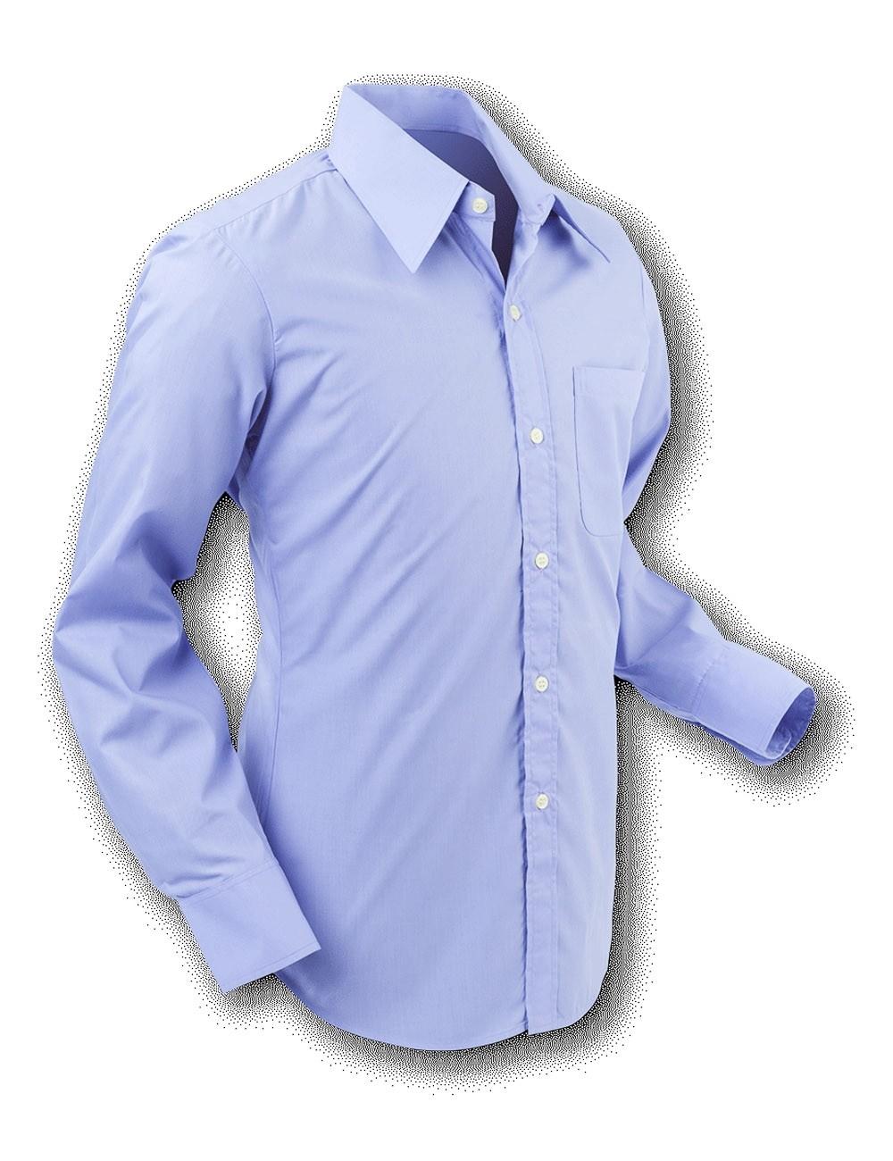 Overhemd 70s Basic Lilac