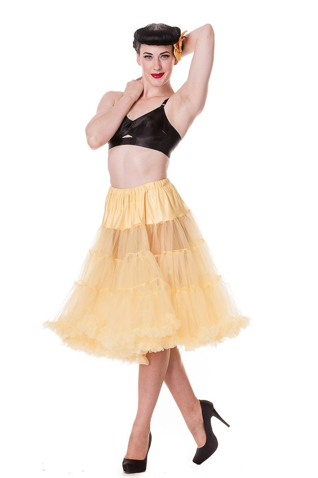 Petticoat Long Yellow