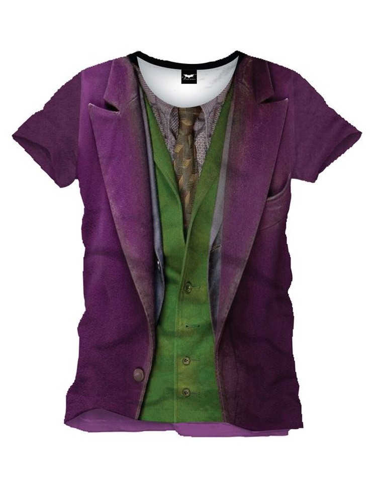 T-shirt Dark Knight Joker Costume