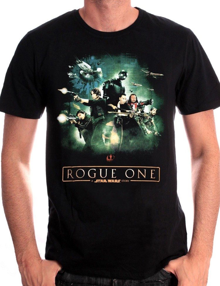 T-shirt Roque One Poster Star Wars