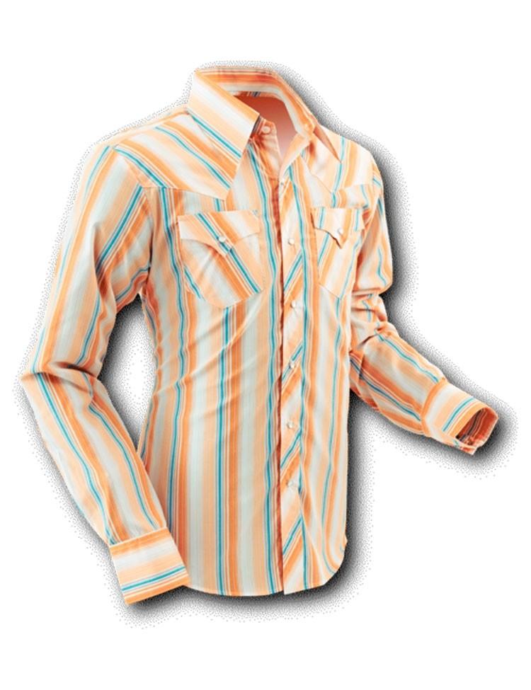 Overhemd Cowboy Creme Stripes