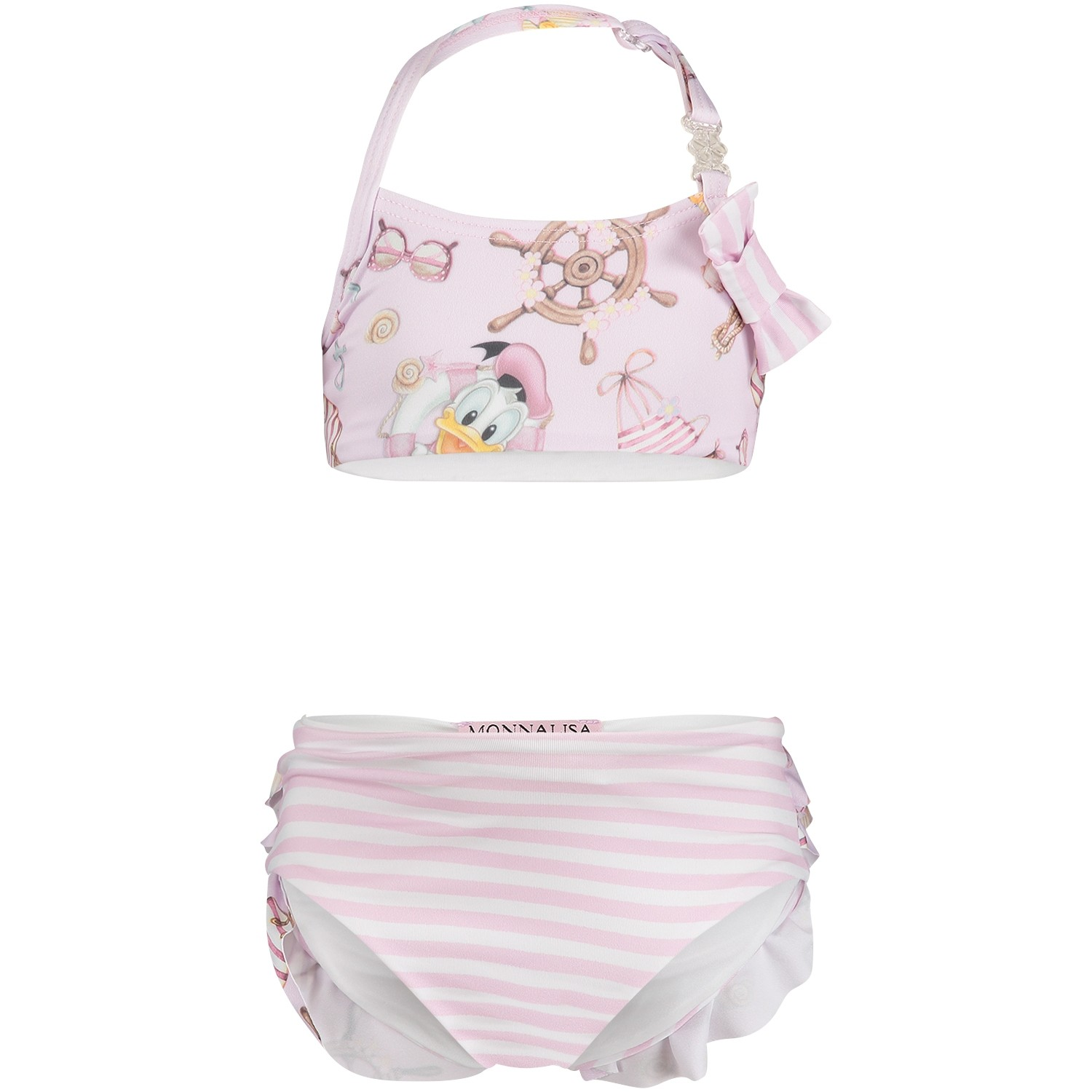 Picture of MonnaLisa 931002 baby swimwear light pink
