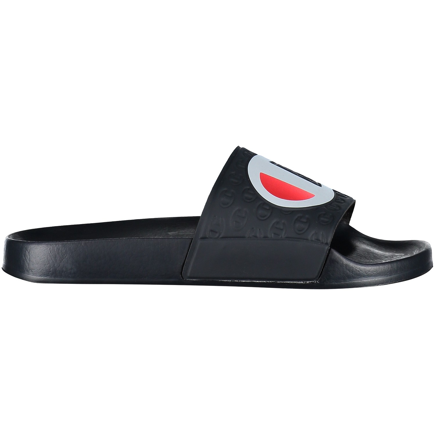 Picture of Champion S20690 women flipflop navy