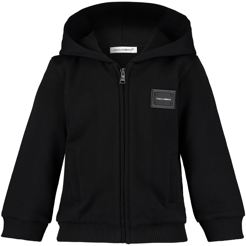 Afbeelding van Dolce & Gabbana L1JW2V G7OLJ baby vest zwart