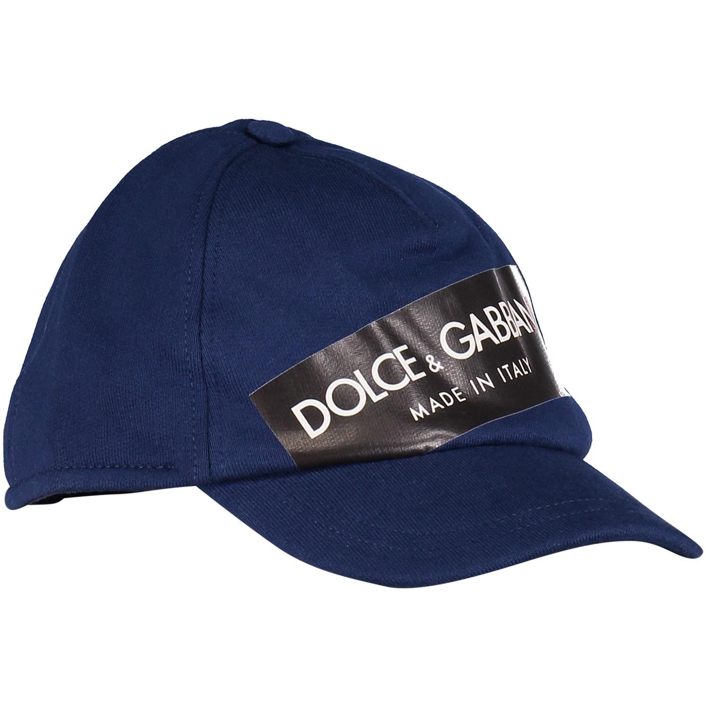 Afbeelding van Dolce & Gabbana LBJH27 kinderpet cobalt blauw