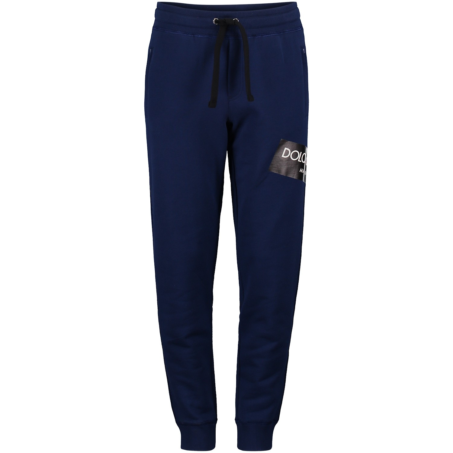 Picture of Dolce & Gabbana L4JPS6 kids pants cobalt blue