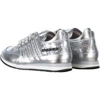 Afbeelding van Dsquared2 54173 kindersneakers zilver