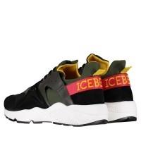 Afbeelding van Iceberg IU1053 heren sneakers groen