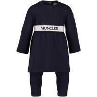 Afbeelding van Moncler 8857250 babysetje navy