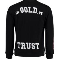 Afbeelding van In Gold We Trust FAS033 herentrui zwart