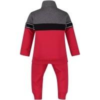 Afbeelding van Moncler 8810905 baby joggingpak rood