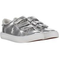 Afbeelding van Polo Ralph Lauren RF10071 kindersneakers zilver