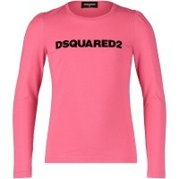 Picture of Dsquared2 DQ02XW kids t-shirt pink