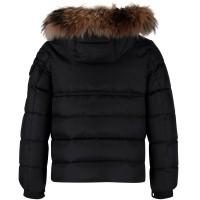 Picture of Moncler 4187625 kids jacket black