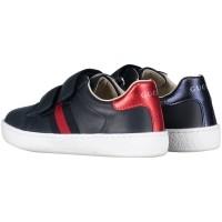 Afbeelding van Gucci 455447 CPWP0 kindersneakers navy
