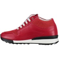 Picture of Moschino JA15054 women sneaker red
