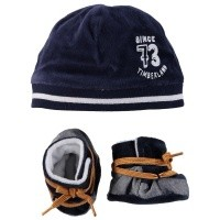Picture of Timberland T98262 baby set navy