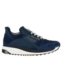 Picture of Dsquared2 57156 B kids sneakers cobalt blue