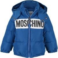 Afbeelding van Moschino MWS015 babyjas cobalt blauw
