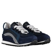Picture of Dsquared2 57024 kids sneakers navy