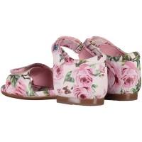 Afbeelding van Dolce & Gabbana D20024 kindersandalen licht roze