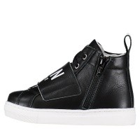 Picture of Dsquared2 57012 kids sneakers black
